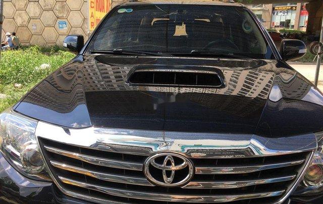 Cần bán lại xe Toyota Fortuner sản xuất 2016 còn mới10