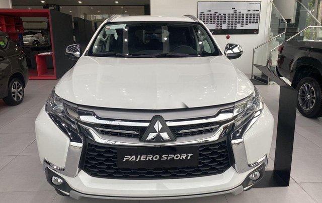 Bán Mitsubishi Pajero Sport 2019, màu trắng, nhập khẩu nguyên chiếc0