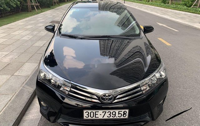 Xe Toyota Corolla Altis sản xuất 2017, màu đen còn mới6