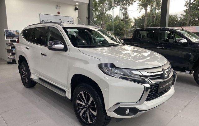 Bán Mitsubishi Pajero Sport 2019, màu trắng, nhập khẩu nguyên chiếc2