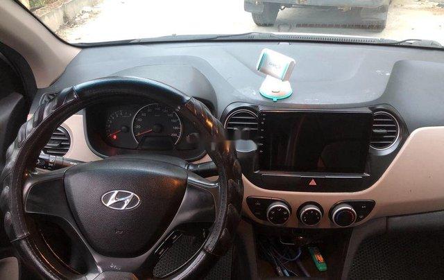 Cần bán xe Hyundai Grand i10 đời 2016, màu bạc, nhập khẩu chính chủ8