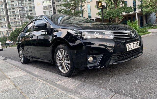 Xe Toyota Corolla Altis sản xuất 2017, màu đen còn mới3