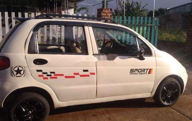 Cần bán lại xe Daewoo Matiz 2000, màu trắng, nhập khẩu 4