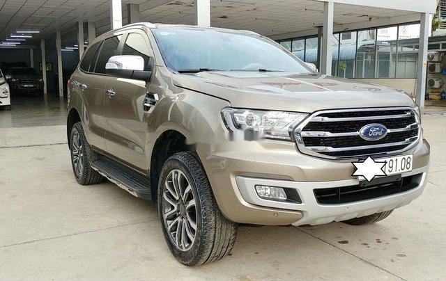 Cần bán lại xe Ford Everest đời 2019, màu nâu, nhập khẩu nguyên chiếc1