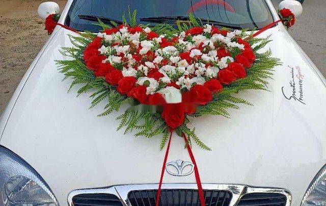 Bán Daewoo Lanos đời 2001, màu trắng, giá chỉ 80 triệu3