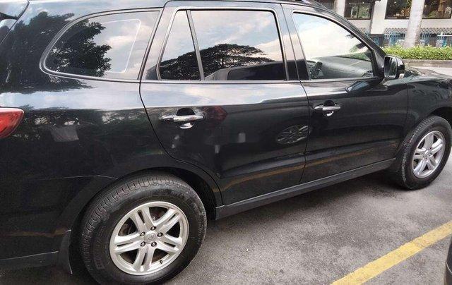 Cần bán xe Hyundai Santa Fe đời 2011, màu đen, nhập khẩu1