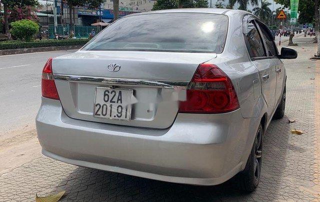 Bán xe Daewoo Gentra sản xuất 2009, màu bạc, nhập khẩu2
