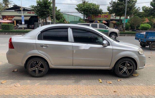 Bán xe Daewoo Gentra sản xuất 2009, màu bạc, nhập khẩu1