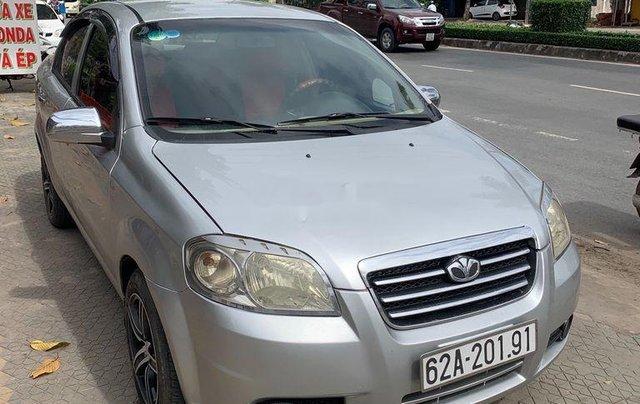Bán xe Daewoo Gentra sản xuất 2009, màu bạc, nhập khẩu0