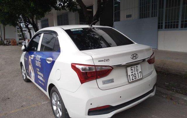 Bán Hyundai Grand i10 đời 2017, màu trắng  0