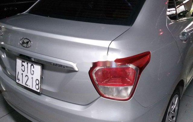 Bán Hyundai Grand i10 2016, màu bạc, nhập khẩu nguyên chiếc2