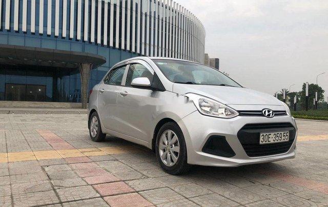 Cần bán xe Hyundai Grand i10 đời 2016, màu bạc, nhập khẩu chính chủ5
