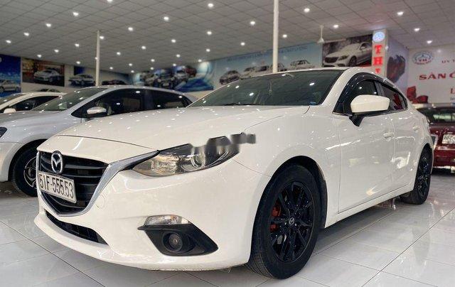 Bán xe Mazda 3 sản xuất năm 2015, màu trắng còn mới, giá tốt1