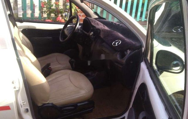 Cần bán lại xe Daewoo Matiz 2000, màu trắng, nhập khẩu 7