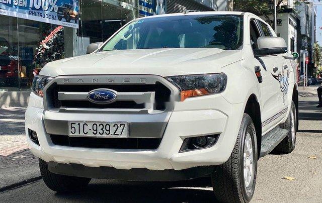 Cần bán lại xe Ford Ranger sản xuất năm 2017, màu trắng2