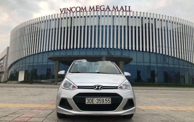 Cần bán xe Hyundai Grand i10 đời 2016, màu bạc, nhập khẩu chính chủ1