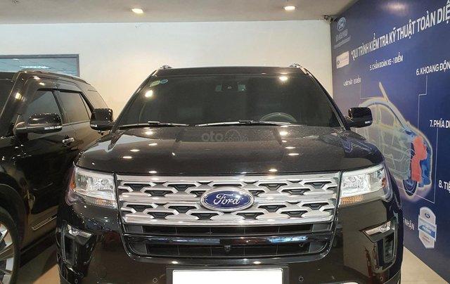 Ford Explore 2019 nhập USA0