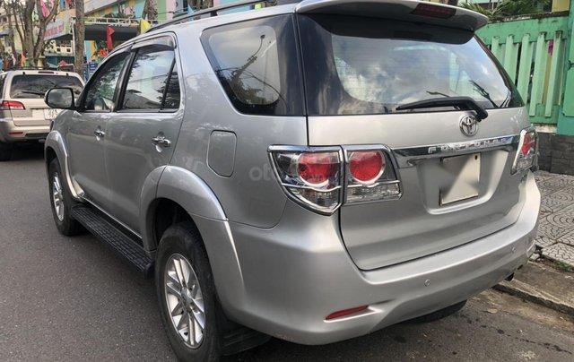 Toyota Fortuner G máy dầu, sản xuất năm 2014 mới về, màu bạc siêu zin4