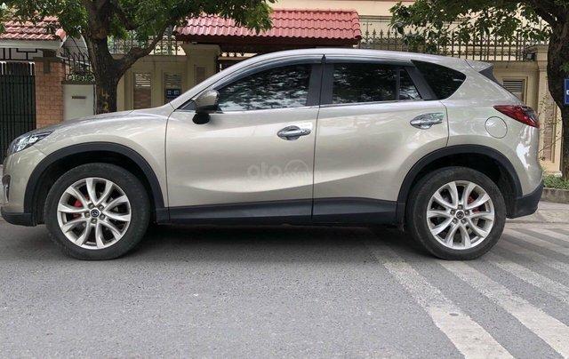 Cần bán Mazda CX 5 năm 2013, màu vàng cát mới 95% giá chỉ 555 triệu đồng0