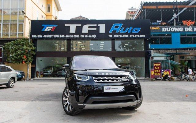 Bán LandRover Discovery HSE Luxury 3.0l sản xuất 2019, màu đen, xe cũ0