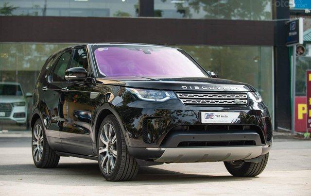 Bán LandRover Discovery HSE Luxury 3.0l sản xuất 2019, màu đen, xe cũ4