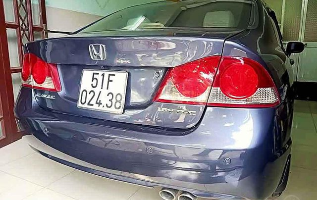 Cần bán xe Honda Civic sản xuất 2007, màu xám còn mới giá cạnh tranh0