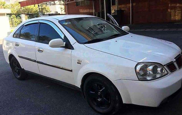 Bán Daewoo Lacetti sản xuất 2005, màu trắng0