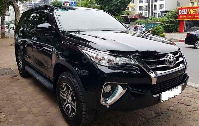 Bán xe Toyota Fortuner năm 2019, màu đen, nhập khẩu nguyên chiếc0