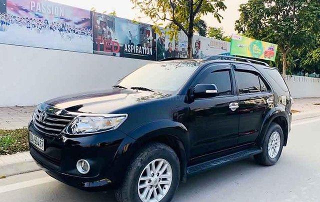 Cần bán xe Toyota Fortuner sản xuất 2013, màu đen, giá ưu đãi0