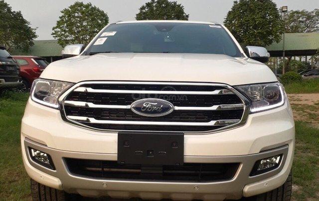 [Hot] Ford Everest Titanium 2.0L 4x2 2021- giảm tiền mặt lên tới gần 100tr tặng phụ kiện, trả góp nhanh, giao xe ngay2