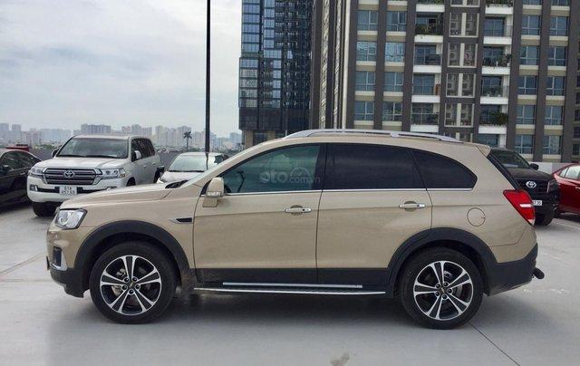 Cần bán xe Chevrolet Captiva 2.4AT 2016 màu vàng cát xe gia đình HCM 36.000km - xe cũ chính hãng Toyota Sure2