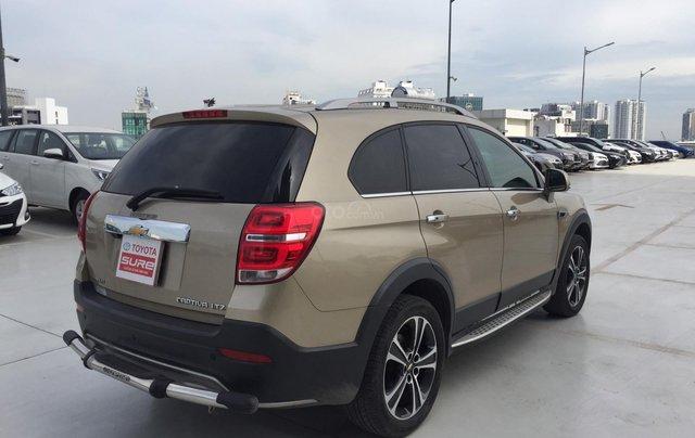 Cần bán xe Chevrolet Captiva 2.4AT 2016 màu vàng cát xe gia đình HCM 36.000km - xe cũ chính hãng Toyota Sure4