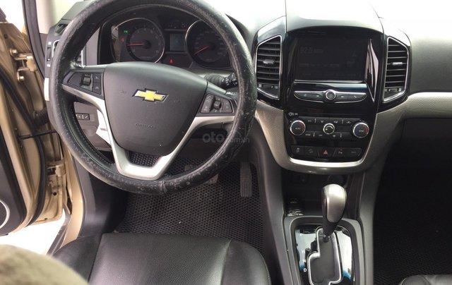 Cần bán xe Chevrolet Captiva 2.4AT 2016 màu vàng cát xe gia đình HCM 36.000km - xe cũ chính hãng Toyota Sure9