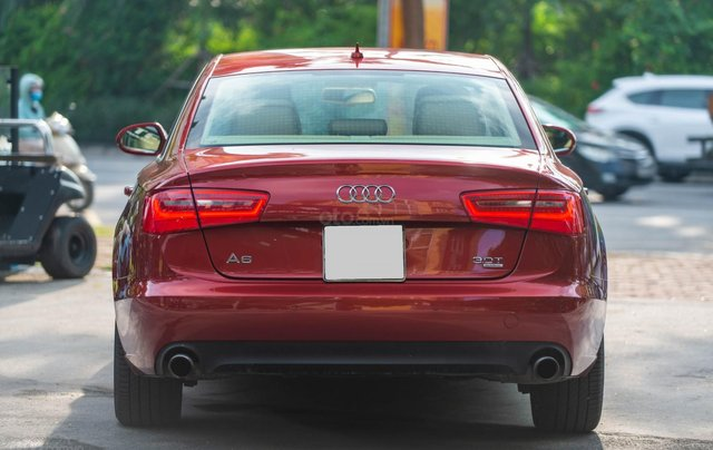 Bán Audi A6 3.0L Quattro, sản xuất 2014, đăng ký 2015, màu đỏ2