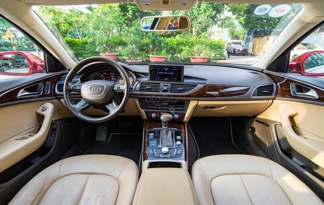 Bán Audi A6 3.0L Quattro, sản xuất 2014, đăng ký 2015, màu đỏ3