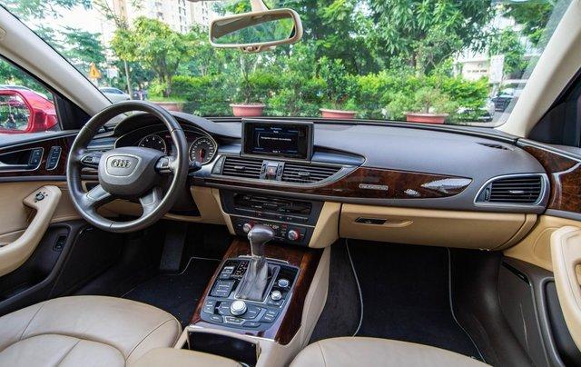 Bán Audi A6 3.0L Quattro, sản xuất 2014, đăng ký 2015, màu đỏ8