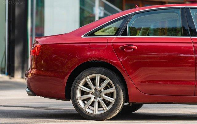 Bán Audi A6 3.0L Quattro, sản xuất 2014, đăng ký 2015, màu đỏ10