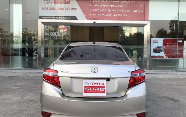 Cần bán xe Toyota Vios 1.5E CVT 2018 nâu vàng GĐ HCM đi 70000km - chính hãng Toyota Sure5