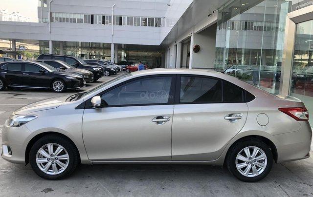 Cần bán xe Toyota Vios 1.5E CVT 2018 nâu vàng GĐ HCM đi 70000km - chính hãng Toyota Sure3
