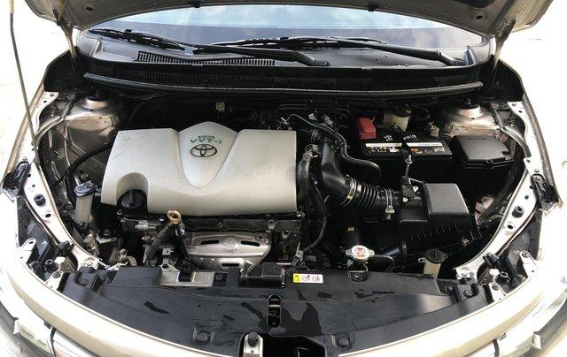 Cần bán xe Toyota Vios 1.5E CVT 2018 nâu vàng GĐ HCM đi 70000km - chính hãng Toyota Sure10