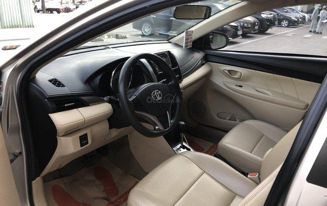 Cần bán xe Toyota Vios 1.5E CVT 2018 nâu vàng GĐ HCM đi 70000km - chính hãng Toyota Sure8