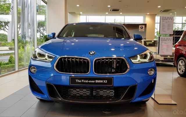 BMW X2 - SUV gầm cao dáng Coupe thể thao, mạnh mẽ & phong cách, khuyến mãi hấp dẫn, màu sắc đa dạng0