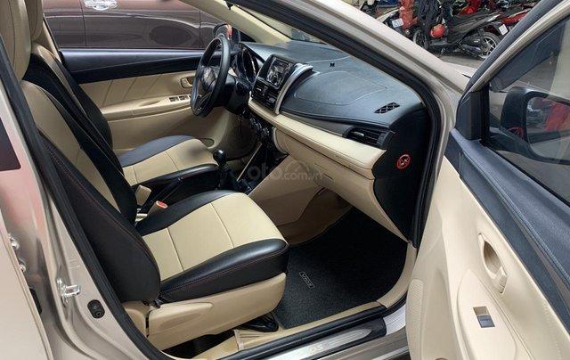 Toyota Vios E số sàn 2016, giá rẻ, xe đẹp10