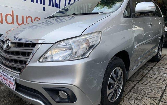 Bán Toyota Innova G tự động ĐK 06/2015, giá rẻ, xe đẹp10