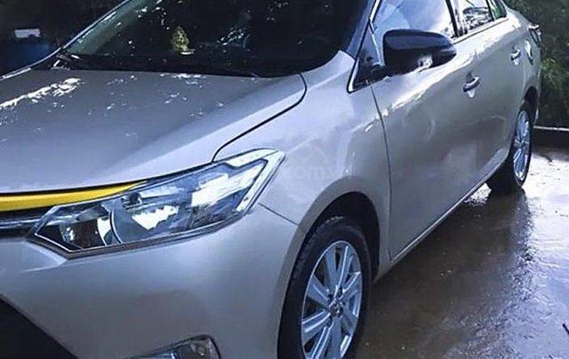 Bán Toyota Vios sản xuất 2015, màu trắng còn mới, giá 353tr1