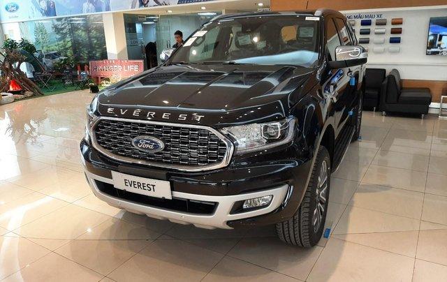 Ford Everest 2021, đủ màu giao ngay toàn quốc, tặng gói phụ kiện lên tới 25tr, hỗ trợ đăng kí đăng kiểm0
