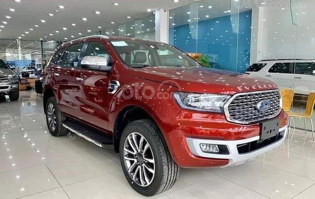 [Ford Thăng Long][ưu đãi khủng] Ford Everest Titanium 2.0L 4x2 AT 2021, giảm ngay 75 triệu + ưu đãi khủng + giao xe ngay0