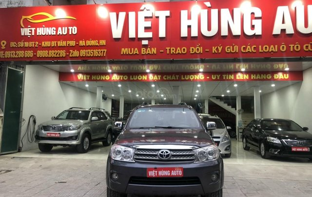 Toyota Fortuner 2.7V 4x4 AT sản xuất 20100