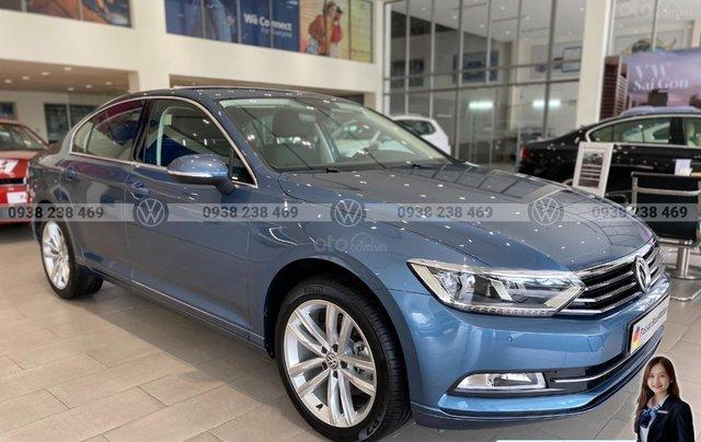 Passat Bluemotion màu xanh dương đẹp hiếm có - khuyến mãi 12 % - Sedan nhập khẩu 100% Đức8