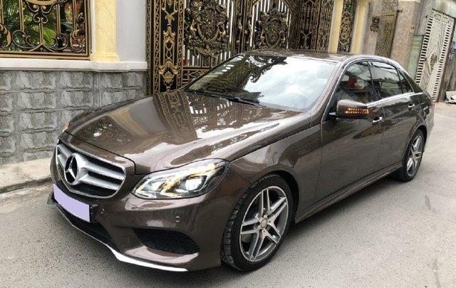 Cần bán lại xe Mercedes E class năm 2016 còn mới1